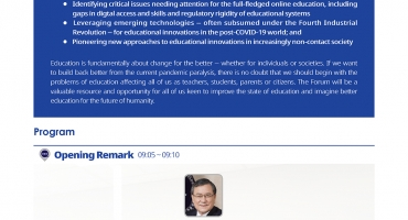 KAIST Forum Envisions Education in the Post-Covid Era​
